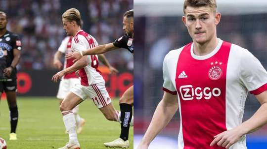 Ajax are asking for a huge sum for De Jong and De Ligt. EFE