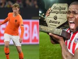 Drenthe has spoken about his compatriot, De Jong. AFP