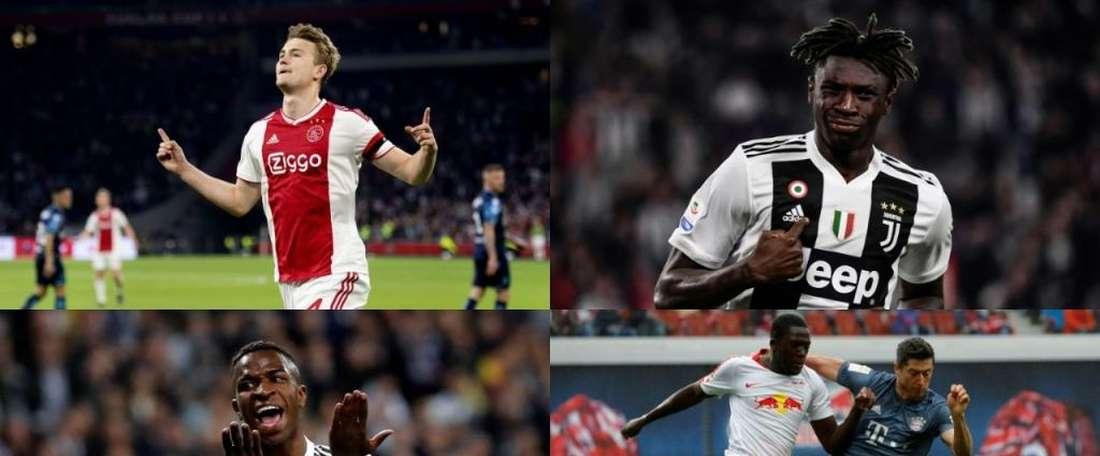 Tre italiani tra i 10 migliori Sub 20 scelti da 'L'Èquipe'. AFP/EFE
