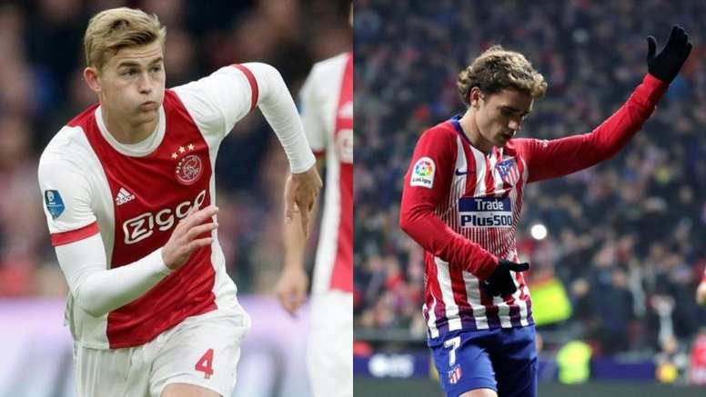 De Ligt and Griezmann at Barça: who would have to go, and how much for? AFP/EFE