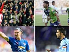 Algunos de ellos siguen compitiendo en algunas de las mejores ligas del mundo. BeSoccer
