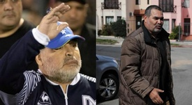 Temen por la salud de Maradona. Montaje/EFE
