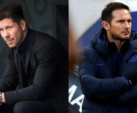 O jovem desconhecido que está na mira de Simeone e Lampard. EFE/AFP
