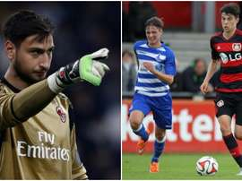 Donnarumma and Kai Havertz, two of the most promising players in the world. BeSoccer