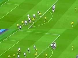 Vrancic brilló con este golazo de falta en el amistoso ante el Tottenham. @vrancic8