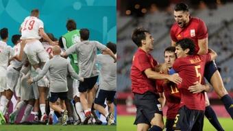 España lleva cinco prórrogas este verano entre la Absoluta y la Olímpica. EFE