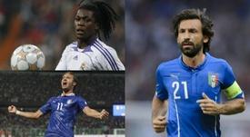 ¿Cuáles fueron los últimos 10 ganadores del 'mvp' en el Europeo Sub 21? Montaje/AFP