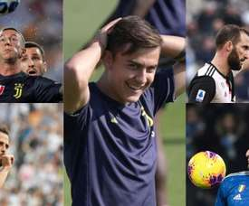La Juventus prepara quattro vendite. AFP/EFE