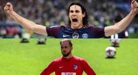 El delantero uruguayo estuvo cerca de firmar por el Atlético. AFP