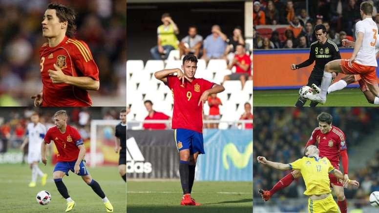 Cinco ex de 'la Roja' que siguen en activo y que quedaron en el olvido. EFE/UEFA