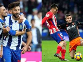 Felipe and Gayà are transfer targets for Atleti. EFE