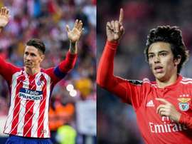 In Portugal, they believe that Atleti will soon have their new 'Niño'. AFP