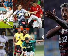 Les meilleurs joueurs du championnat brésilien 2019. EFE