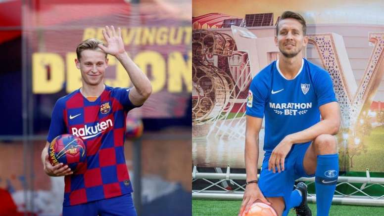 Barcelona and Seville meet this Sunday night at the Camp Nou. EFE
