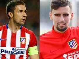 L'Atlético va dire au revoir aux capitaines de l'équipe A et B. ClubAtléticodeMadrid