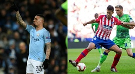 Gabriel Jesus and Rodri may well swap teams in the summer. AFP/EFE