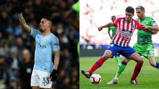 Gabriel Jesus and Rodri may well swap teams in the summer. AFP/EFE