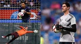 Buffon, entre los siete mejores jugadores del videojuego. Montaje/BeSoccer