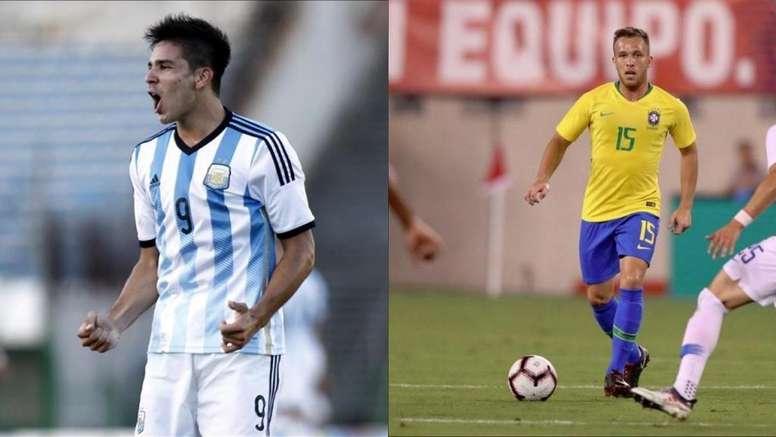 El objetivo, la Copa América de Brasil. Montaje/BeSoccer