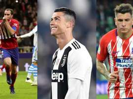 La kryptonite de Cristiano Ronaldo : Gimenez et Godin. EFE