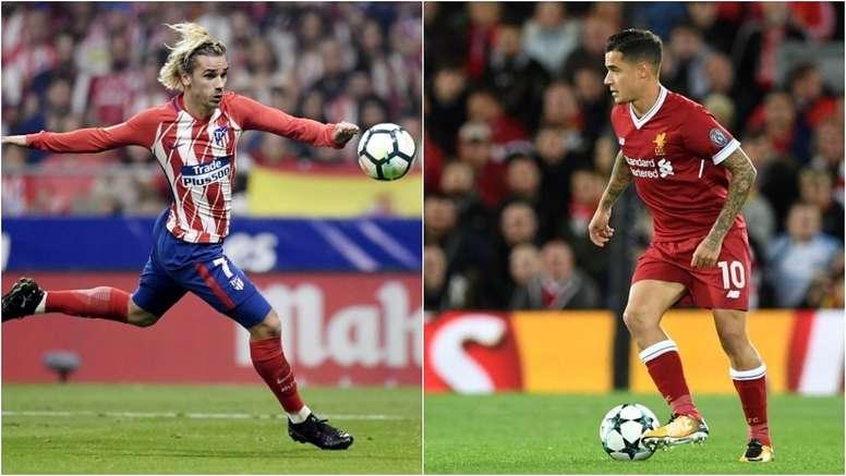 Griezmann y Coutinho podrían llegar al Barcelona. BeSoccer