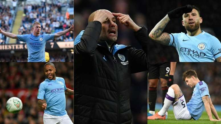 Man City's big spending has led to severe consequences. AFP
