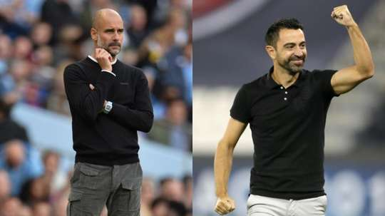 Guardiola et Xavi, direction PSG ?EFE/AFP