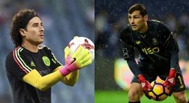 Ochoa poderá ser o substituto de Casillas. Montaje/EFE/AFP