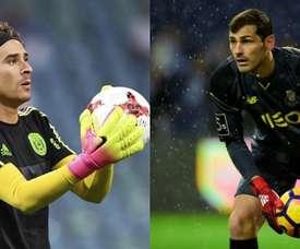 Guilhermo Ochoa could replace Iker Casillas. Montaje/BeSoccer