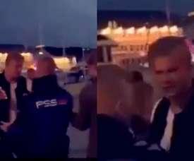 Erling Haaland expulsé d'une boîte de nuit en Norvège. Capture/@FutbolBible