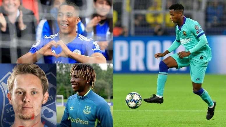 Ansu Fati se cuela en el 'top 10' de precocidad de la Champions. BeSoccer/AFP/Everton/Heerenveen