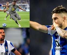 O Atlético de Madrid vai as compras no Porto. Montaje/EFE