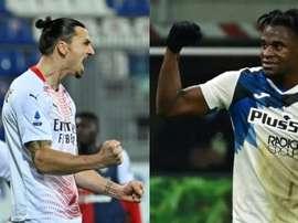 Ibrahimovic provocou Zapata. AFP