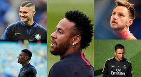 No todo es Neymar: otros nombres clave en el cierre de mercado. Montaje/AFP/EFE