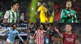 Des joueurs qui auraient dû être sélectionnés. EFE/AFP/BeSoccer