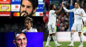 Muchas dudas sobre su continuidad en el Madrid. Montaje/BeSoccer