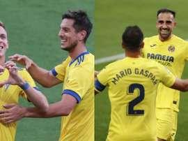 ¿Por qué Cádiz y Villarreal comparten apodo de 'submarino amarillo'? Montaje/EFE/LaLiga