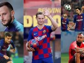 Trop-plein de pièces pour Valverde. Montage/EFE/AFP