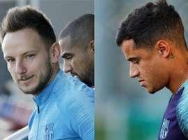 El Barça señala a sus prescindibles. Montaje/EFE