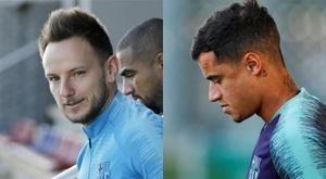 Le Barça veut se séparer de Coutinho et Rakitic. EFE