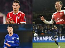 Plusieurs grands joueurs n'ont pas brillé loin de Madrid. AFP/EFE