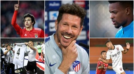 Atletico's game plan ahead of the 2019-2020 campaign. Montage/EFE/AFP