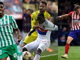 O Barça procura um leteral. EFE/AFP