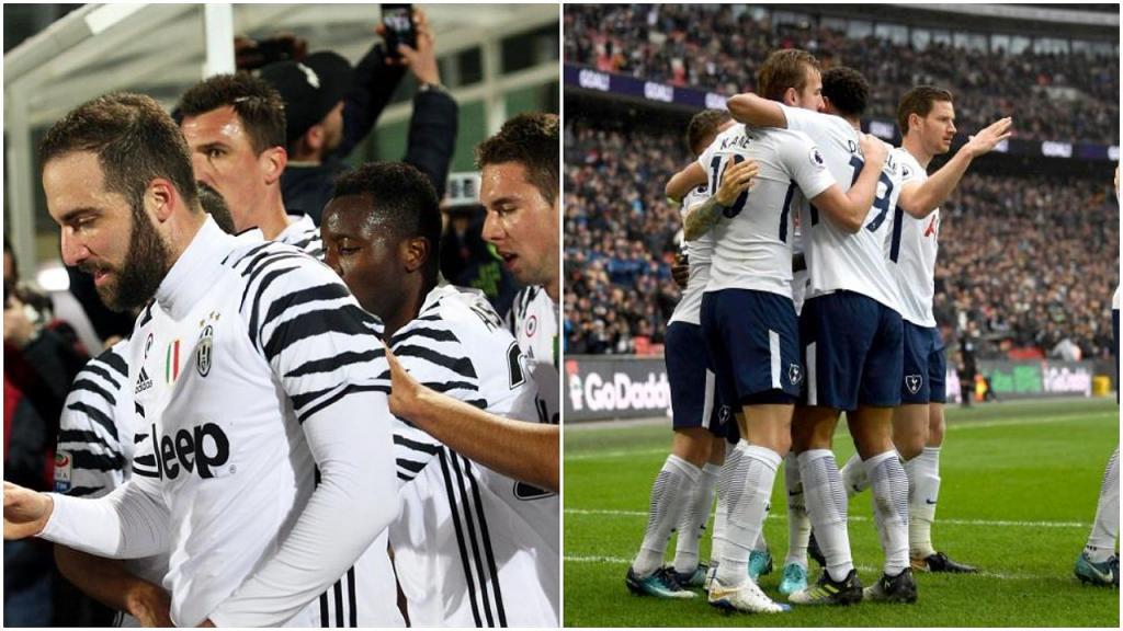 Pin Juve et Tottenham s'affrontent pour la première fois en compétition officielle. AFPWhatsappTwitterFacebookCommentaires 0