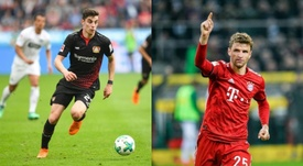 El United sacará la billetera para llevarse a Havertz y a Müller. AFP