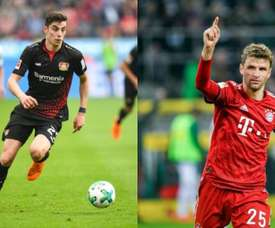 Havertz e Müller são alvo do United. AFP