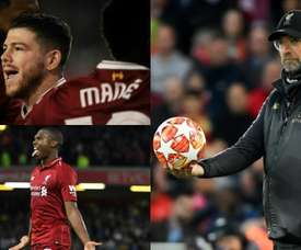 Numerous players who haven't featured regularly under Klopp may leave this summer.EFE.