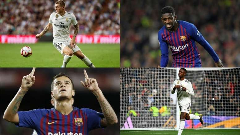 Le Barça a dépensé beaucoup plus que Madrid ces dernières années. AFP/EFE