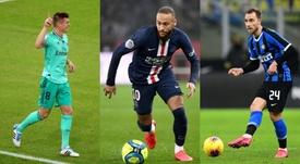 Kroos, Neymar e Eriksen se destacam no uso de ambas as pernas no FIFA 20. EFE/AFP