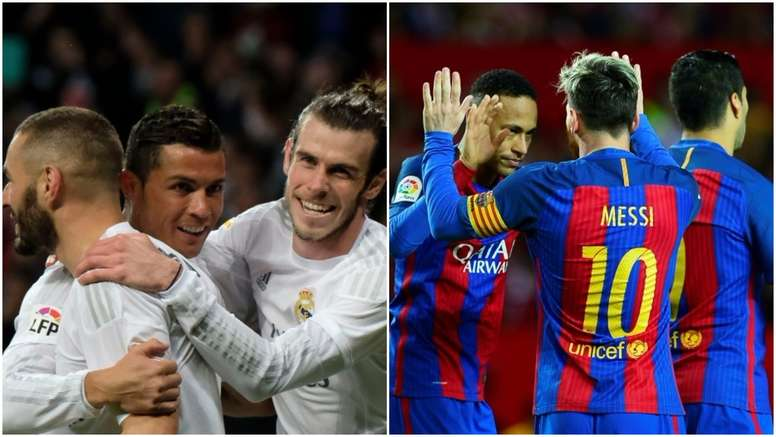 BBC have scored less than MSN this season. BeSoccer